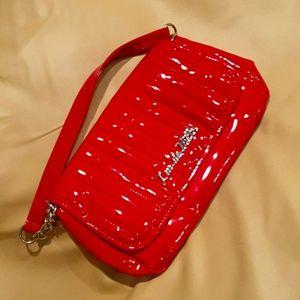 Lux de ville purse in red